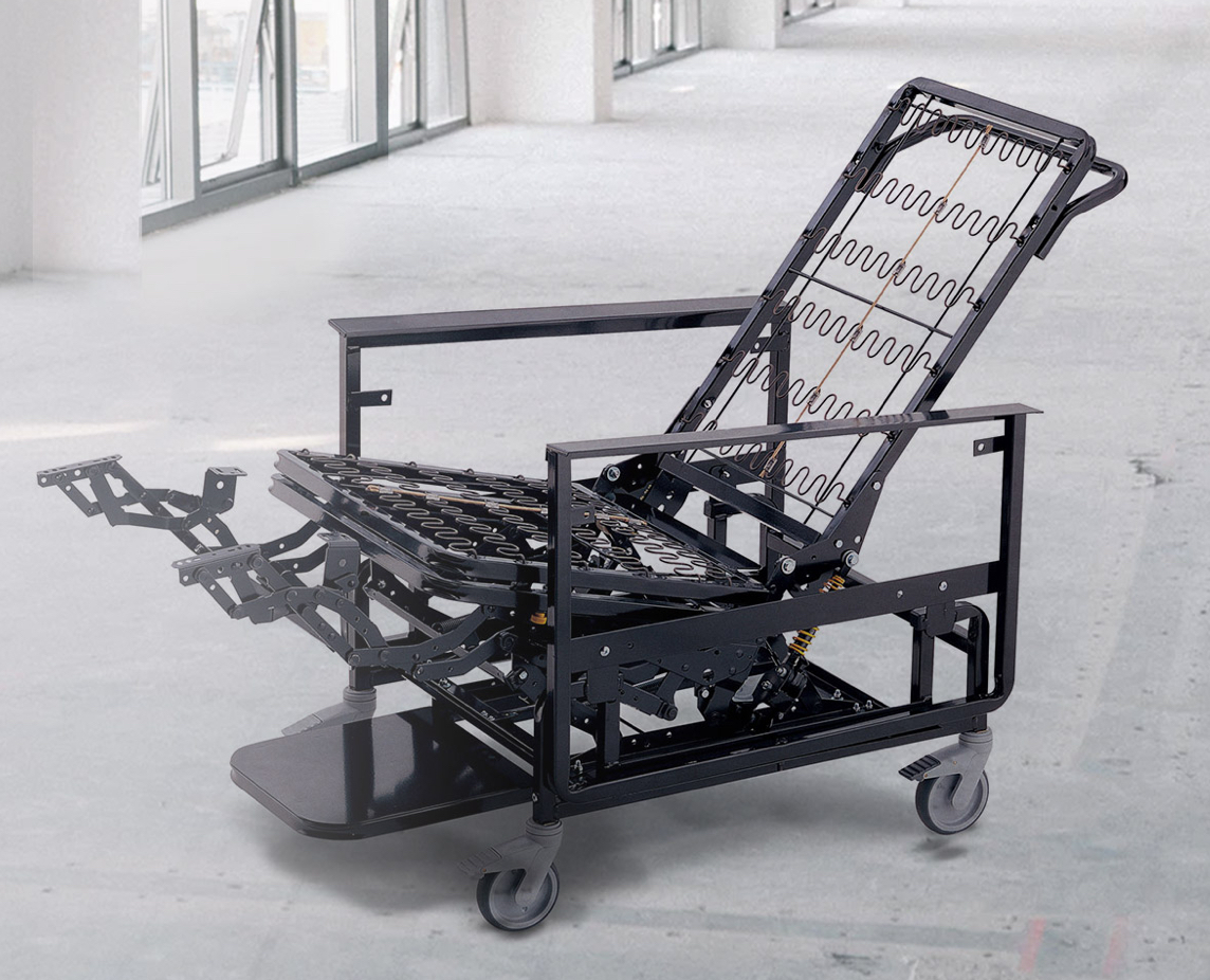 With a reinforced steel powder-coated frame and heavy-duty casters, these chairs are built to last.